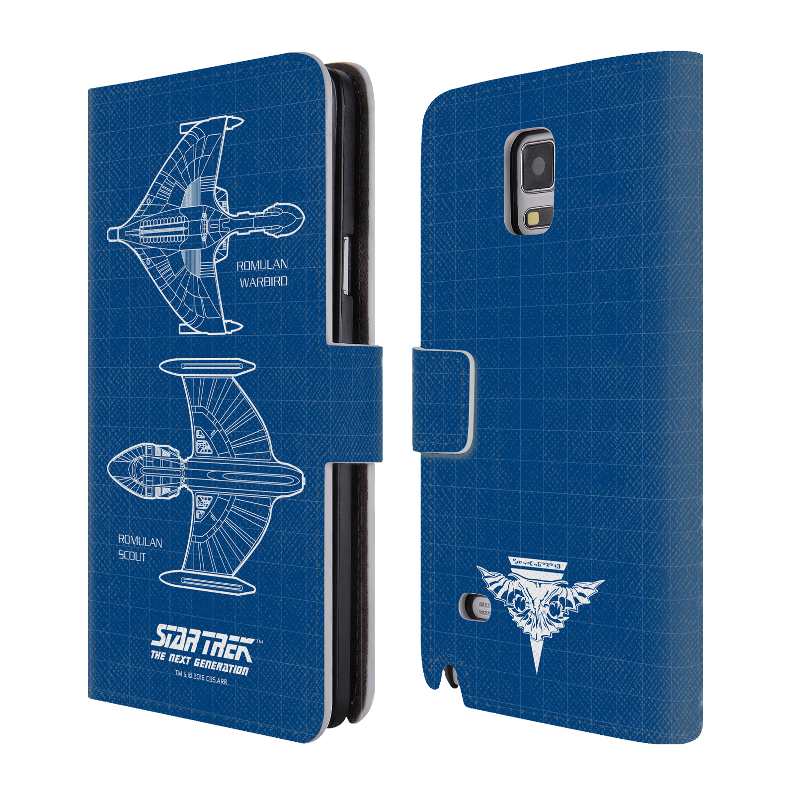 OFFICIAL STAR TREK SHIPS OF THE LINE TNG LEATHER BOOK WALLET CASE COVER FOR SAMSUNG PHONES 1
