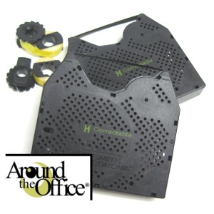 Around The Office Compatible SMITH CORONA Typewriter Ribbon & Correction Tape for PWP 470...This Package includes 2 Typewriter Ribbons and 2 Lift Off Tapes