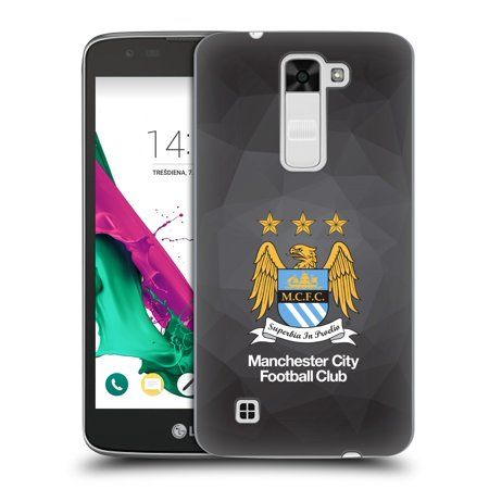 OFFICIAL MANCHESTER CITY MAN CITY FC CREST GEOMETRIC HARD BACK CASE FOR LG PHONES 3 (Note 3 Manchester United Case)