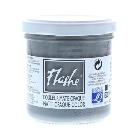 Lefranc & Bourgeois Flashe Matte Artist's Color, 125ml, Neutral Gray (Artist Matte)
