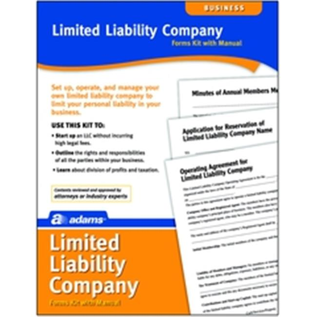 Adams ALFS408K Limited Liability Company Kit, Forms and I...