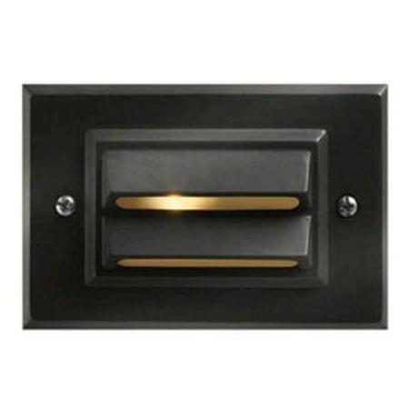 Step Low Voltage Deck (Hinkley Lighting H1546 12v 12w Horizontal Deck / Rail Light )