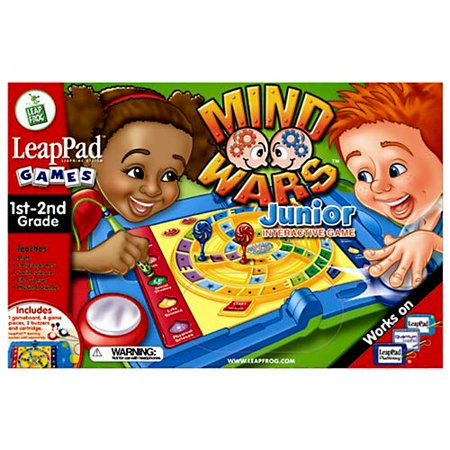 Flippin Frogs Game (LeapFrog LeapPad 1st-2nd Grade Game: Mind Wars)