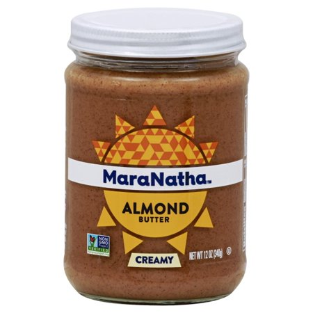 - MaraNatha No Stir Creamy Almond Butter, 12 oz.