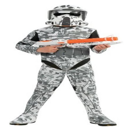 Star Wars The Clone Wars, Child's Costume And Mask, Arf Trooper Costume, Medium (Ages 5 to 7)](Star Wars Arf Trooper Costume)