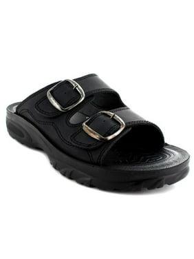 406e953a5a622 Aerosoft A5402BlackUS Men 10 Grabone Men Sandals