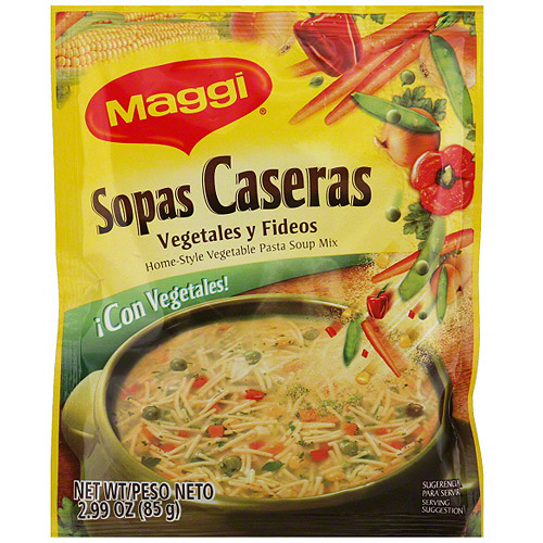 ***Discontinued by Kehe****Maggi Home-Style Vegetable Pasta Soup Mix, 2.99 oz (Pack of 12)