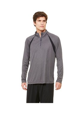 Alo Men's Quarter-Zip Lightweight Pullover With Insets, Style M3026