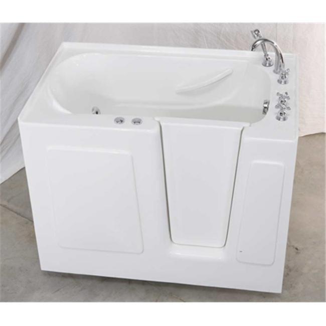 G-Vision Bathware AquaEze Air Bath Right-Hand Door Walk-In Tub