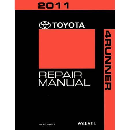 Bishko OEM Repair Maintenance Shop Manual Bound for Toyota 4-Runner Volume 4 Of 5 2011