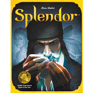 Splendor Strategy Board Game (Pirates Constructible Strategy Game)