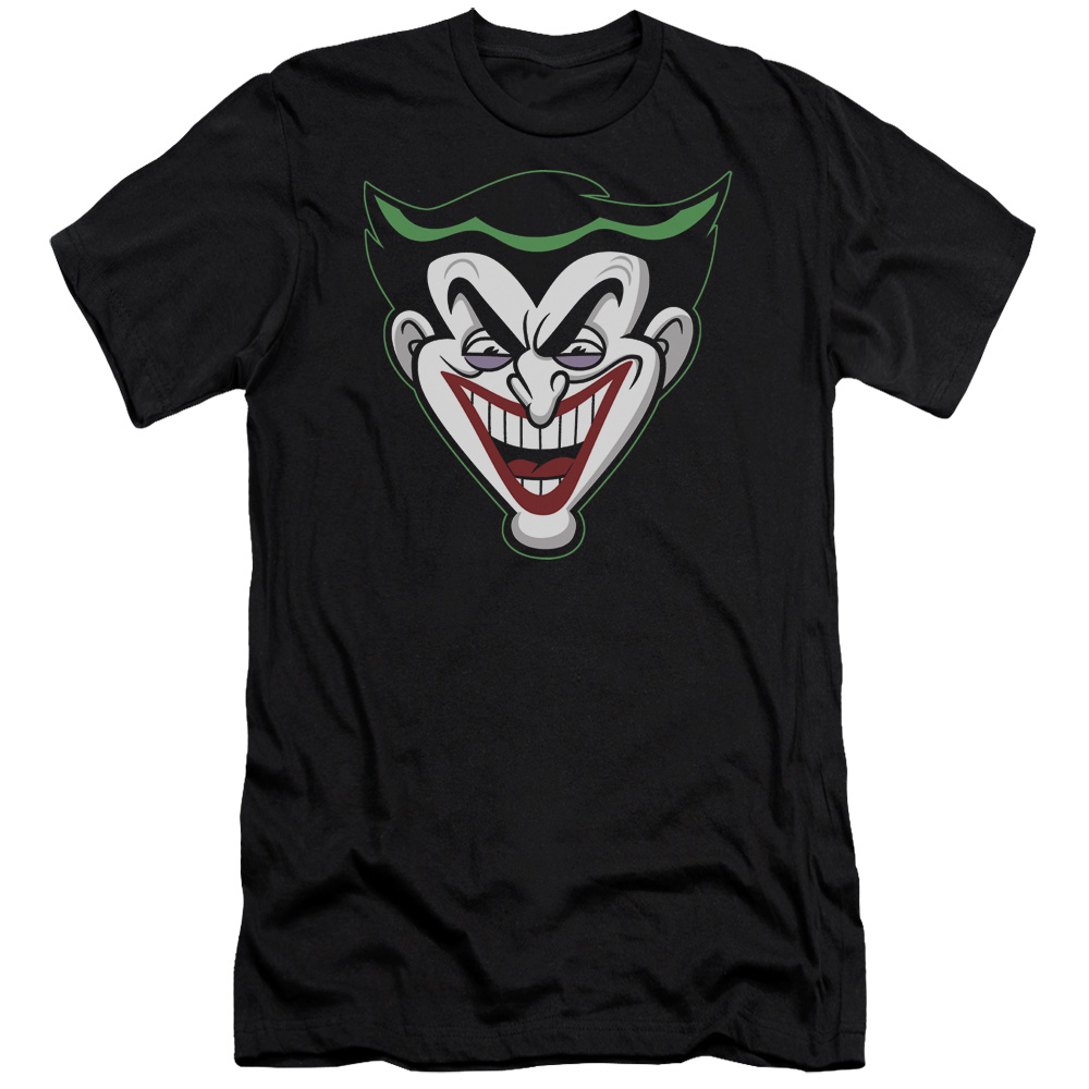 Trevco Batman Bb/Animated Joker Head   S/S Adult 30/1   B...