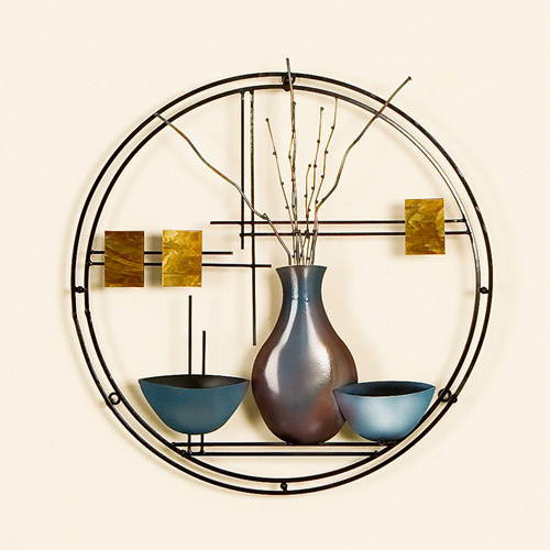 Southern Enterprises Bowl and Vase Wall Art
