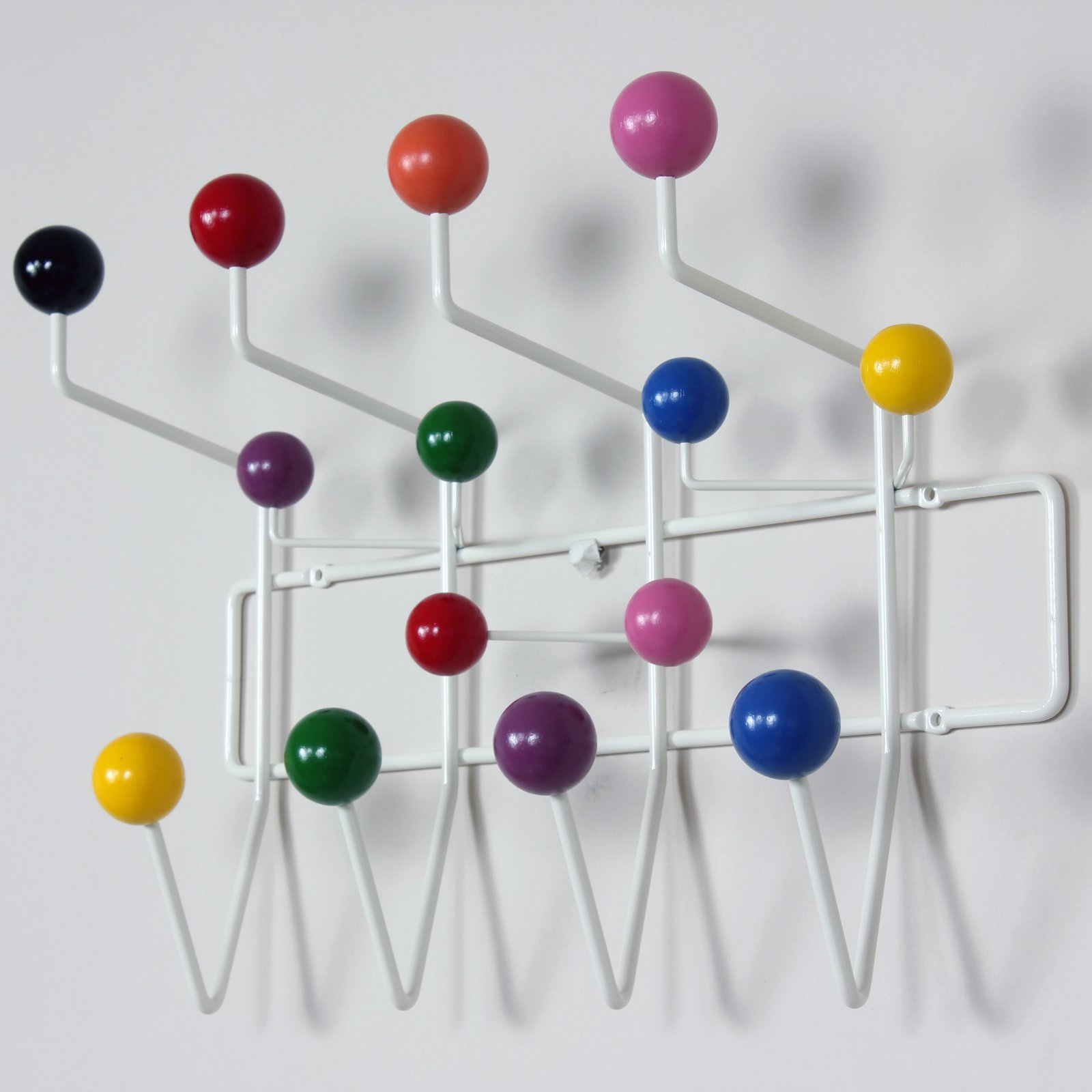 George Nelson Hang It Small Multi-Color Wall Coat Rack