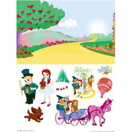 Advanced Graphics WJ1021 24 x 36 in. WOZ Emerald City Activity - Emerald City Guard