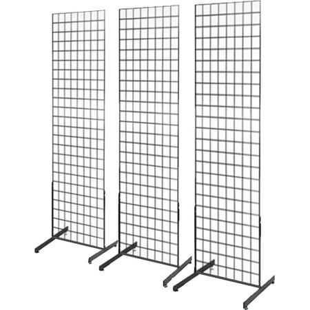 Gridwall Accessories (Only Hangers 2' x 6' Grid Wall Panel Floorstanding Display Fixture 3)
