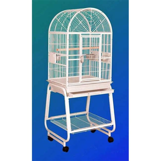 HQ 22217Cgr Dome Top Bird Cage - Green