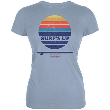 Surf's Up Mavericks California Juniors Soft T Shirt