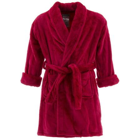 Girl's Sleep Robe with Heart - Childrens Robe