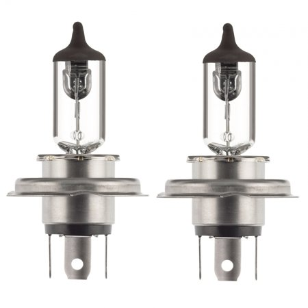 2x H4 Halogen 60/55W 12V Headlight Low/High Beam Car Bulbs Clear Amber