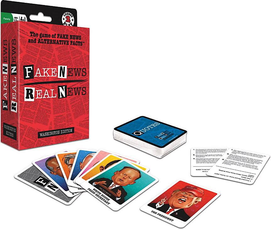License 2 Play Fake New Real News Washington Edition by License 2 Play