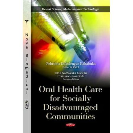 Soins de santé bucco-dentaire pour les personnes socialement les communautés défavorisées