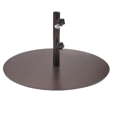 Abba Patio 55 Lbs Round Steel Market Patio Umbrella Base 27 4 Inch