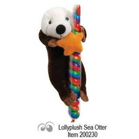 Sea Otter Plush Animal With Lollipop Walmart Com
