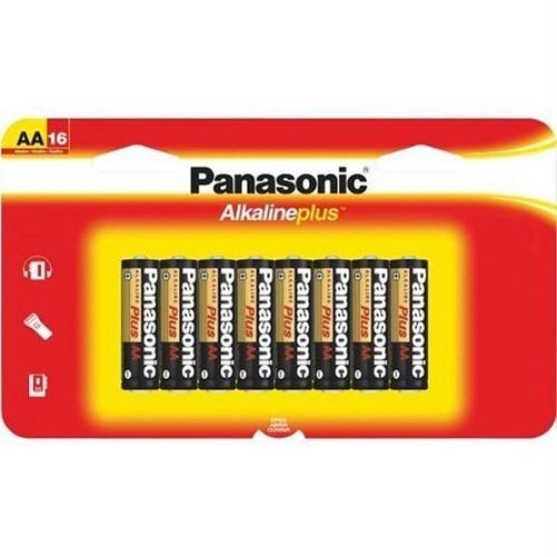 Panasonic Plus LR6PA/16BH General Purpose Battery - AA - Alkaline - 16 / Pack