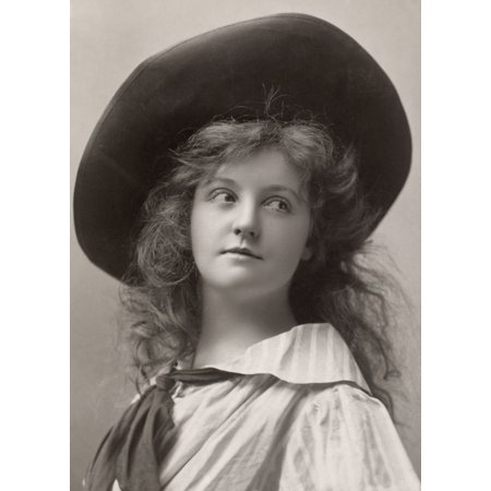 - Laura Hope Crews N(1879-1942) American Actress Original Cabinet Photograph 1906 Poster Print by Granger Collection
