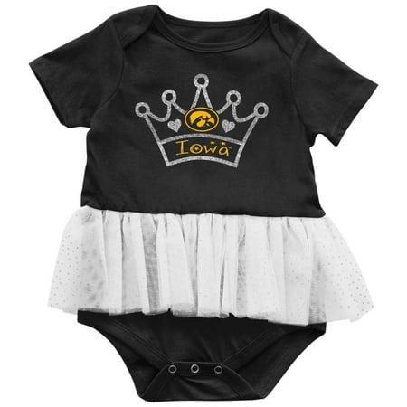 Iowa Hawkeye Baby Clothes - University of Iowa Hawkeyes Infant Princess Tutu Bodysuit