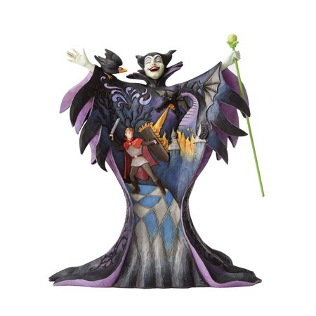 Jim Shore Disney Traditions 4055439 Maleficent with Scene New 2016