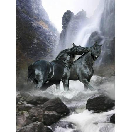 Dream Horses 065 Print Wall Art By Bob - 065 Wall