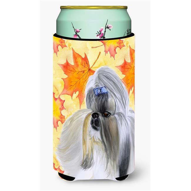 Carolines Treasures BB9927TBC Shih Tzu Fall Tall Boy Beverage Insulator Hugger - image 1 of 1