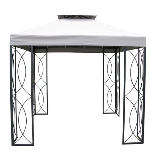 Garden Winds Replacement Canopy Top For The Lowe S Treasures Gazebo Riplock 500 Walmart Com Walmart Com