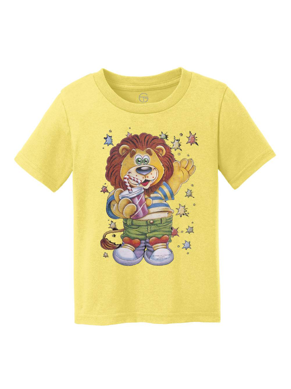 Lion Kid Youth Cotton T-Shirt