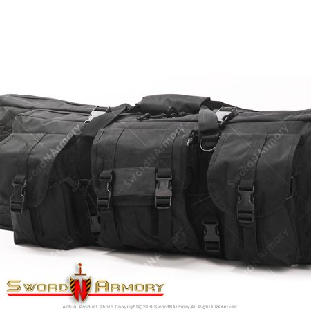 Tactical Single Long Rifle Bag Gun Paintball Padded Soft Case 36