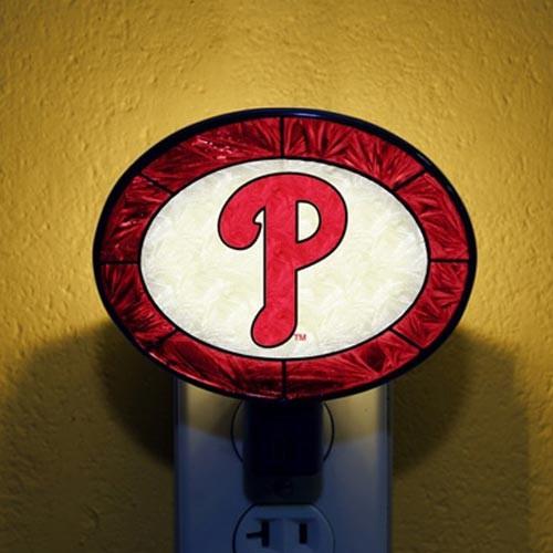 Philadelphia Phillies Art Glass Nightlight - No Size