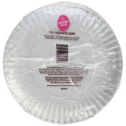 Natural Value Paper Plates, 9 Inch Diameter, 40 Count Boxes (Pack of 24)