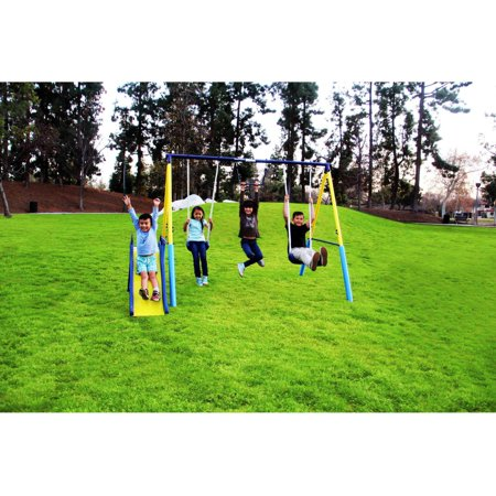 Sportspower Fun Outdoor My First Metal Swing Set