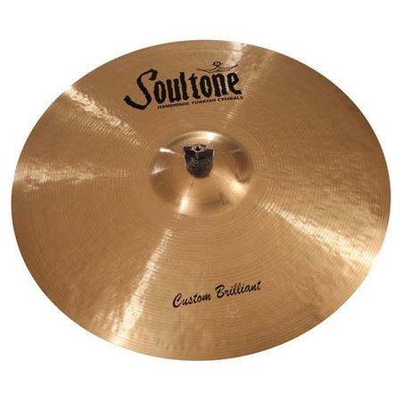 - soultone cymbals cbr-bbrid23 23 in. brilliant big bell ride