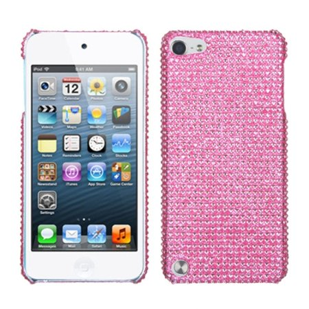 Insten Pink Diamante Back Protector Cover(Diamante 2.0) Case For iPod Touch 6 6th 5 5th Gen