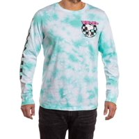 Snoopy Peanuts Licensed Men's Washed Long Sleeve Graphic T-Shirt, up to size 3XL