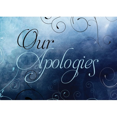 Ceo cards apology greeting card box set of 25 cards 26 envelopes ceo cards apology greeting card box set of 25 cards 26 envelopes ap1802 m4hsunfo