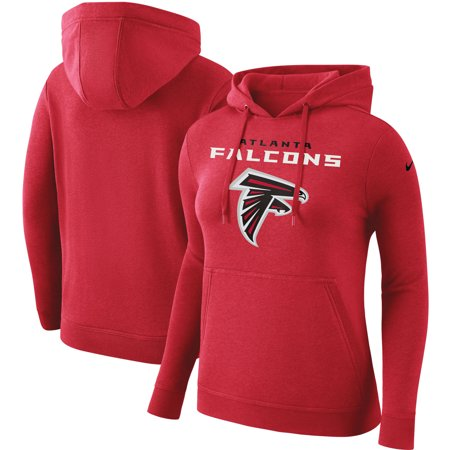 promo code 944a6 74c99 Atlanta Falcons Nike Women's Club Tri-Blend Pullover Hoodie - Red