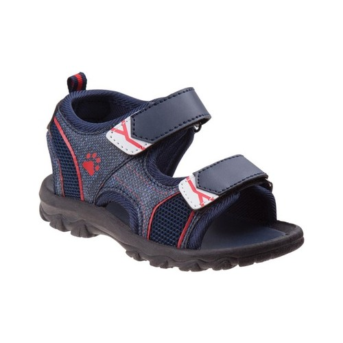 Rugged Bear Boys' Fabric Sandals