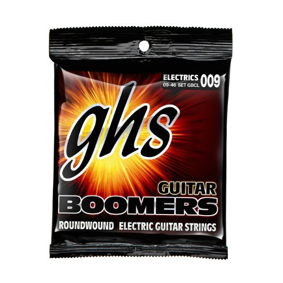GHS GCBL Boomers Custom Light Electric Guitar Strings .009-.045 by GHS