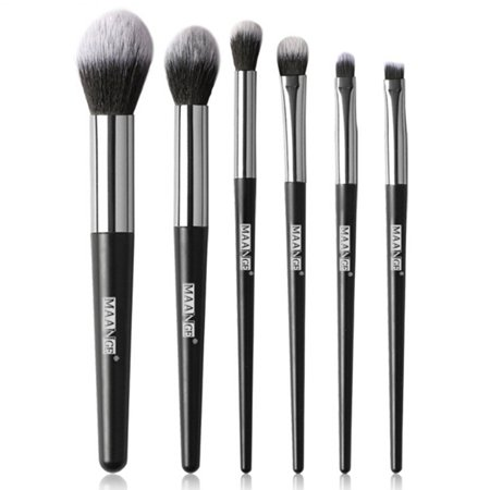 AkoaDa Eyeshadow Brushes 6Pcs Makeup Eye Blending Brush Crease Set-Best Essential Makeup Eye Brushes-Last Longer Apply Better Makeup for Eye Shadow Make