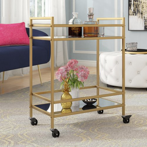 Mercer41 Chicago Bar Cart