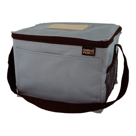 Insulated Lunch Cooler With Pockets And Id Holder